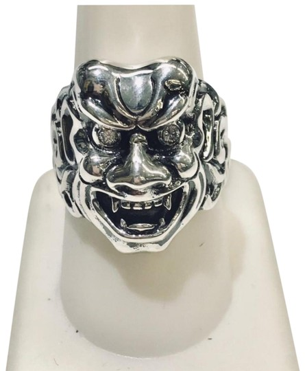 Preload https://img-static.tradesy.com/item/24212413/stephen-webster-never-worn-two-diamond-japanese-warrior-mask-sterling-silver-238-grams-two-diamonds-0-2-540-540.jpg