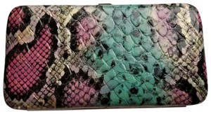 Urban Outfitters Snakeskin snap closure wallet
