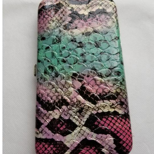 Urban Outfitters Snakeskin snap closure wallet Image 6