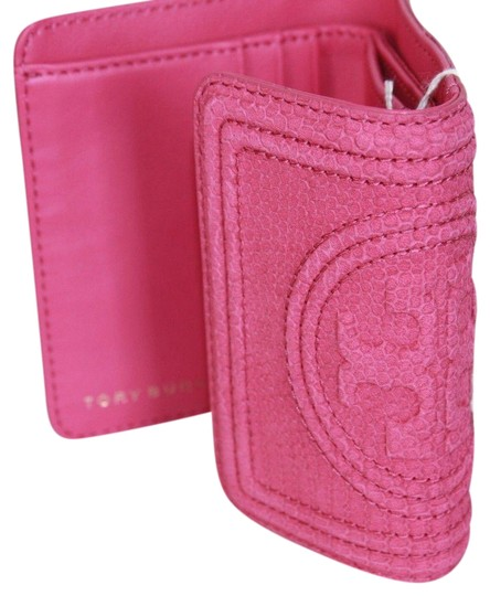 Tory Burch Tory Burch Hibiscus flower Fleming snake mini wallet Image 0