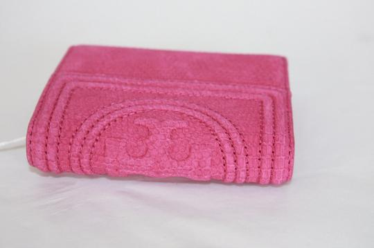 Tory Burch Tory Burch Hibiscus flower Fleming snake mini wallet Image 2