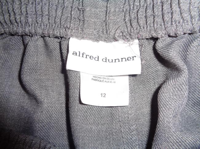 Alfred Dunner Trouser Pants Gray Image 2