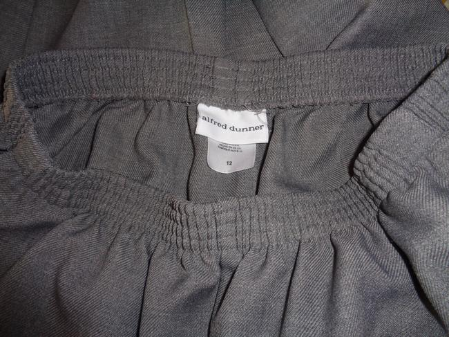 Alfred Dunner Trouser Pants Gray Image 3