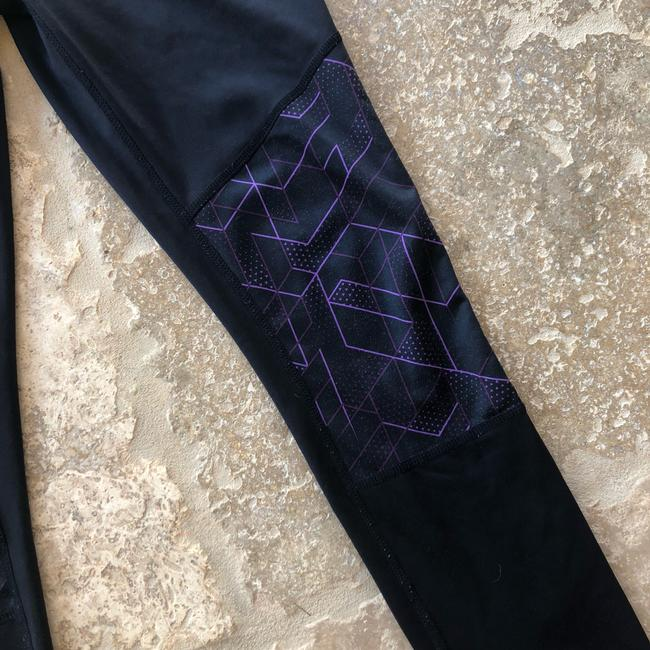 Reebok Geometric Leggings Athletic Image 1