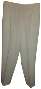 Bend Over Trouser Pants Ivory White
