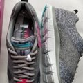 Sketchers Size 9.5 Women's New In Box Sneakers Gray Athletic Image 0