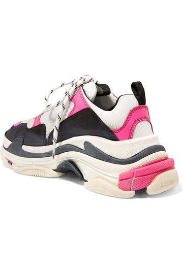 Balenciaga Speed Sneaker Sneakers High Top pink & white Athletic Image 2