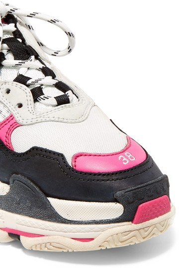 Balenciaga Speed Sneaker Sneakers High Top pink & white Athletic Image 3