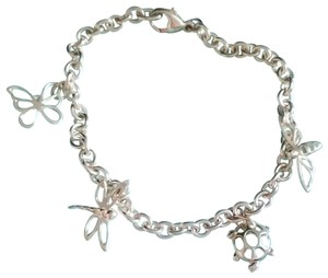 Tiffany & Co. Tiffany & Co. Sterling Silver Dragonfly Butterfly Firefly Turtle Charm
