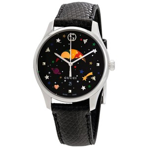 24f788e3bf0 Gucci G-Timeless Stars and Planet Moonphase Dial Ladies Watch