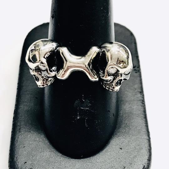 Stephen Webster NEVER WORN!!!! Stephen Webster Skull & Bones Silver Four Diamond Ring Sterling Silver 19.5 grams Four Diamonds weighing 0.16 carat total weight Size 11 100% Authentic Guaranteed!!! Comes with Original Stephen Webster Pouch!!! Image 1