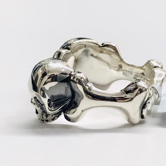Stephen Webster NEVER WORN!!!! Stephen Webster Skull & Bones Silver Four Diamond Ring Sterling Silver 19.5 grams Four Diamonds weighing 0.16 carat total weight Size 11 100% Authentic Guaranteed!!! Comes with Original Stephen Webster Pouch!!! Image 5