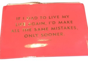 Kate Spade Same mistakes pencil pouch