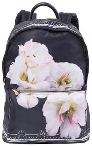 Ted Baker Rugsack Adjustable Straps Logo Kayleey Gardenia Floral Backpack