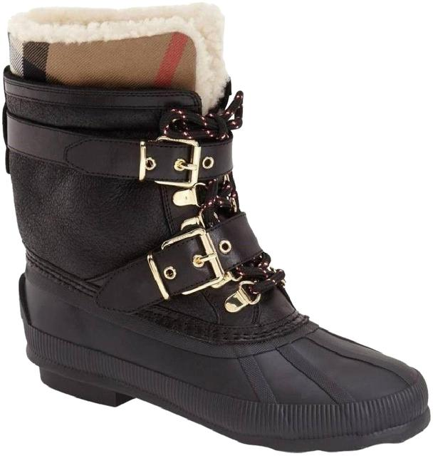 Item - Black Windmere Check Weather Boots/Booties Size EU 40 (Approx. US 10) Regular (M, B)