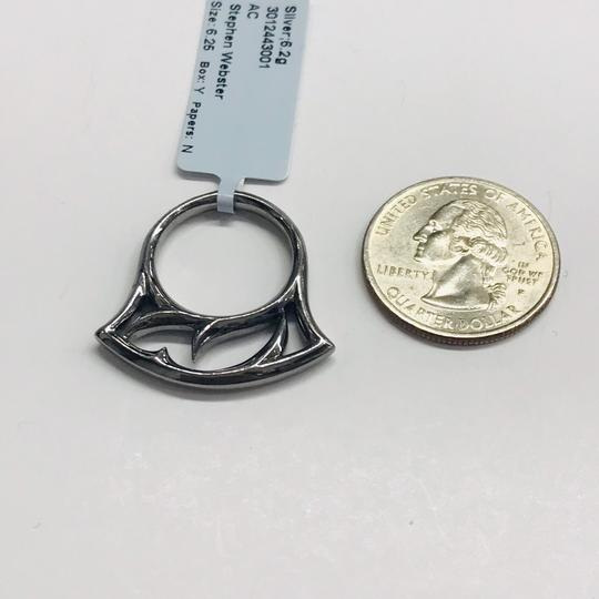 Stephen Webster NEVER WORN!! Stephen Webster Thorn Silver Stacking Ring Sterling Silver 6.2 grams Size: 6.25 Easily Sized!! 100% Authentic Guaranteed!! Comes with Original Stephen Webster Pouch!!! Image 6