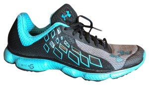 Under Armour Black/turquoise Athletic