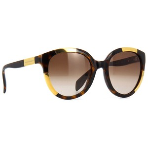 Alexander McQueen Round Style Women's Am0007sa 002 Brown Gradient Lens