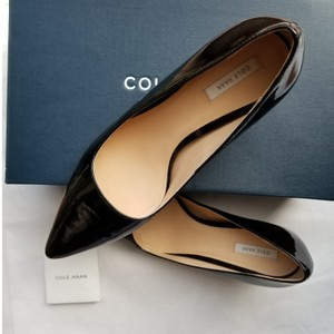 Cole Haan Patent Leather Heels Like New Black Pumps