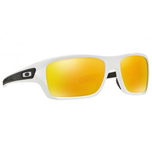 Oakley Turbine Unisex Oo9263-04 Fire Iridium Mirrored Lens