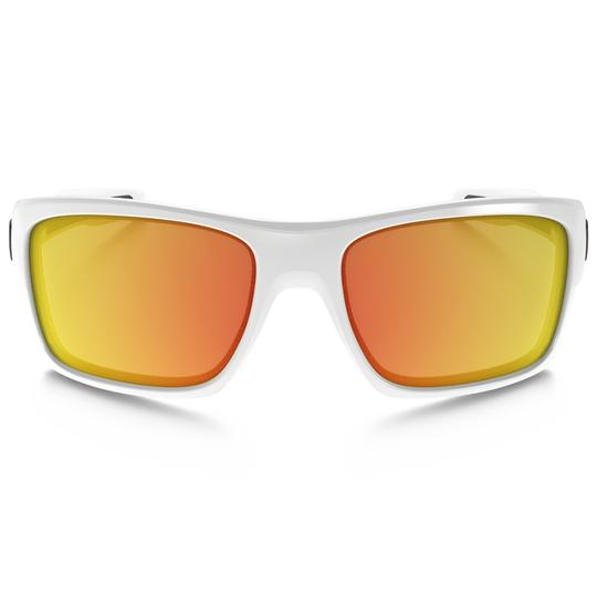 Oakley Turbine Unisex Oo9263-04 Fire Iridium Mirrored Lens Image 1
