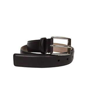 Gucci Dark Brown Classic Leather Belt with Square Buckle 336831 2140 Groomsman Gift