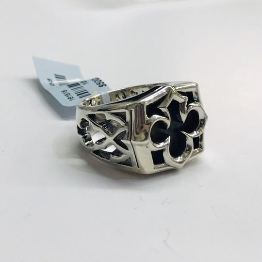 Stephen Webster NEVER WORN!! Stephen Webster Silver Tiger Iron Stone Aces Carved Signet Men's Ring Sterling Silver Tiger Iron Stone 29 grams Size 10.75 100% Authentic Guaranteed!! Comes with Original Stephen Webster Pouch! Image 1