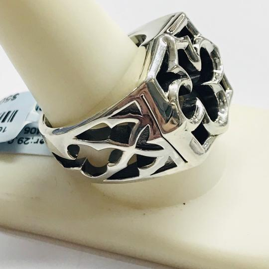 Stephen Webster NEVER WORN!! Stephen Webster Silver Tiger Iron Stone Aces Carved Signet Men's Ring Sterling Silver Tiger Iron Stone 29 grams Size 10.75 100% Authentic Guaranteed!! Comes with Original Stephen Webster Pouch! Image 5