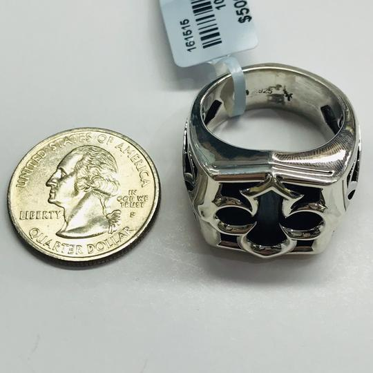 Stephen Webster NEVER WORN!! Stephen Webster Silver Tiger Iron Stone Aces Carved Signet Men's Ring Sterling Silver Tiger Iron Stone 29 grams Size 10.75 100% Authentic Guaranteed!! Comes with Original Stephen Webster Pouch! Image 7