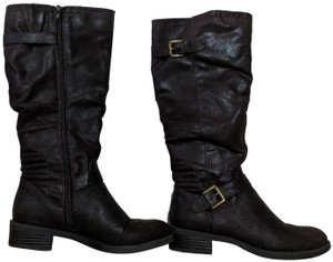 White Mountain Dark Brown Boots