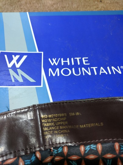 White Mountain Dark Brown Boots Image 5