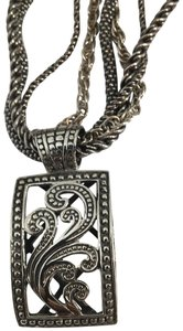 Silpada 4 strand necklace with Pendant
