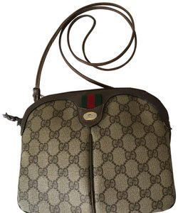 13fcd62d118a Gucci Rare Vintage Web Monogram Gg Supreme Leather Flap Pocket ...