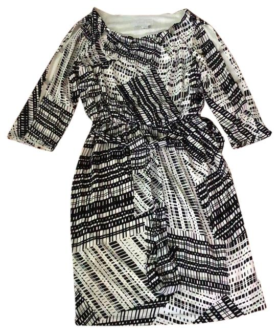 Preload https://img-static.tradesy.com/item/24213487/jessica-simpson-black-and-white-silver-detail-short-casual-dress-size-2-xs-0-1-650-650.jpg