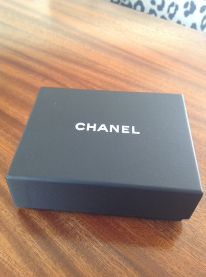 Chanel Authentic Chanel Deco Crystal Ruthenium Chain Bangle. BNWT Image 2