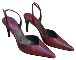 Paolo Dark Red Pumps