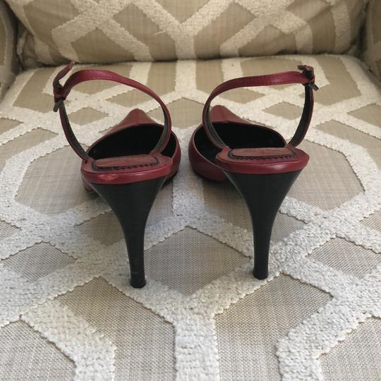 Paolo Dark Red Pumps Image 3