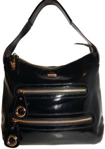 Kate Spade Patent Leather Hobo Bag