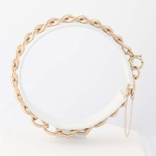 Other Modified Curb Chain Charm Bracelet 6 3/4