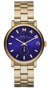 Marc by Marc Jacobs Marc By Marc Jacobs Baker Gold tone Blue Dial Watch mbm3343