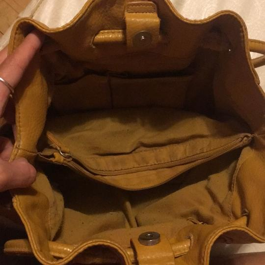 Other Satchel in mustard yellowish Image 6