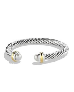 David Yurman 7mm Pearl Cable Classics Bracelet