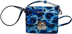 Marc by Marc Jacobs Leather Floral Cross Body Bag