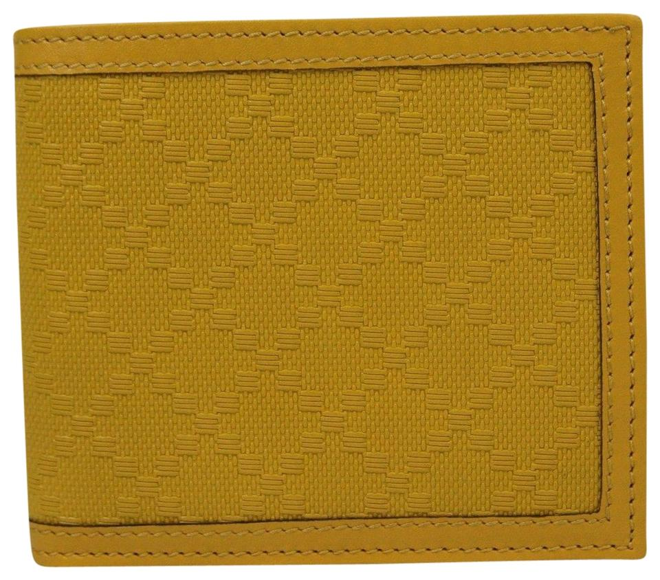 3d2be32334dff0 Gucci Gucci Hillary Lux Yellow Diamante Leather Bifold Wallet 225826 7011  Image 0 ...