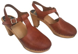 swedish hasbeens brown Mules