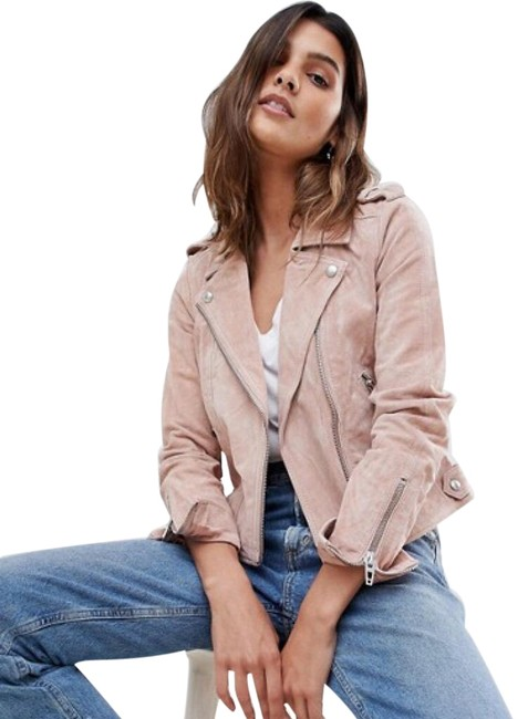 BlankNYC Candy Crush Suede Moto Jacket Size 8 (M) BlankNYC Candy Crush Suede Moto Jacket Size 8 (M) Image 1