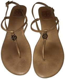 Tory Burch Flat Nude/Brown Sandals