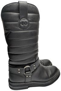 Chanel Dallas Star Black Boots