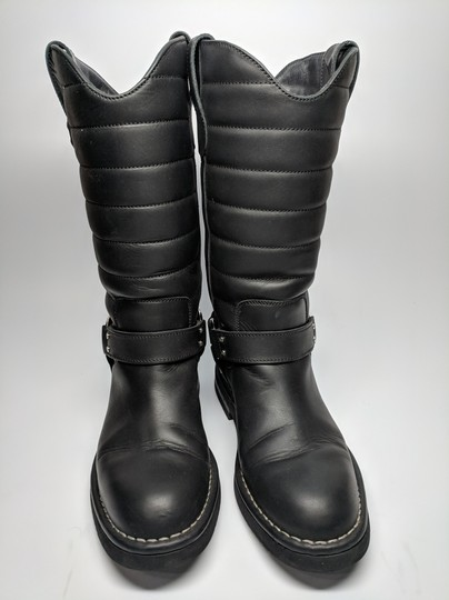 Chanel Dallas Star Black Boots Image 4