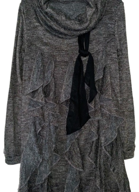Preload https://img-static.tradesy.com/item/24214843/stella-mccartney-gray-wool-embellished-mid-length-short-casual-dress-size-6-s-0-1-650-650.jpg